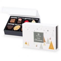 Prezent pod choinkę Chocolate Box White Mini