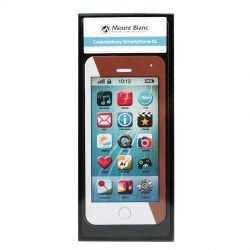 Czekoladowy smartphone XL