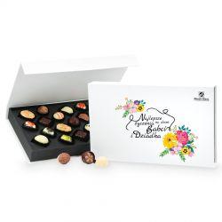 Czekoladki na Dzień Babci i Dziadka Chocolate Box White