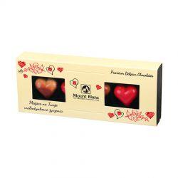 Bombonierka dla zakochanych Elegance Cream no.1 z Twoimi życzeniami