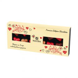 Prezent na Walentynki Elegance Cream no.4 z Twoimi życzeniami