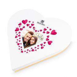 Praliny dla zakochanych Sweet Heart White Maxi z Twoimi zdjęciem