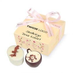 Czekoladki dla kobiety Mini Ballotin Cream no.2 z Twoim logo
