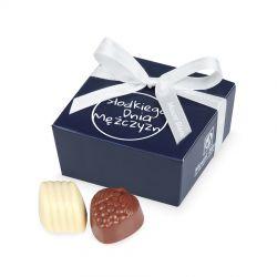 Czekoladki na Dzień Mężczyzny Mini Ballotin Blue no.2