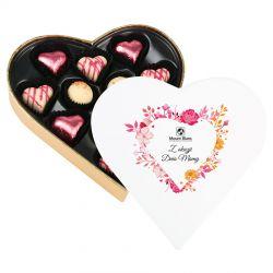 Czekoladki serduszka Sweet Heart White Mini Z okazji Dnia Mamy