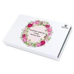 Prezent na Rocznicę Ślubu Chocolate Box White