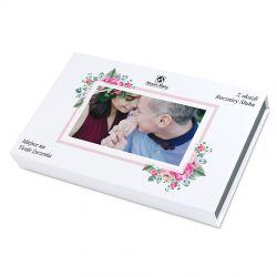 Prezent Chocolate Box White z Twoim zdjęciem i życzeniami na rocznicę ślubu