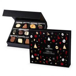 Czekoladki pod Choinkę Chocolate Box Medium Black