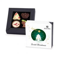 Christmas Delights White no.2, czekoladki na Święta