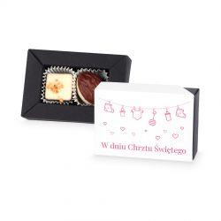 Czekoladki na chrzest dla dziewczynki Delights Mini no.1