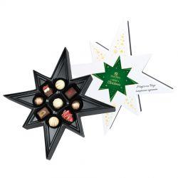 Prezent na Boże Narodzenie Falling Star White z Twoimi życzeniami