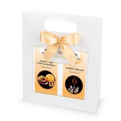 Gift Bag White no.1, słodkości na każdą okazję