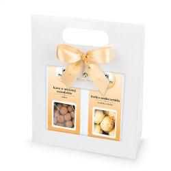 Gift Bag White no.2, elegancki prezent firmowy