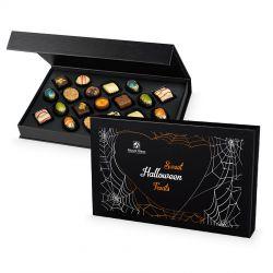 Prezent na Halloween Chocolate Box Black