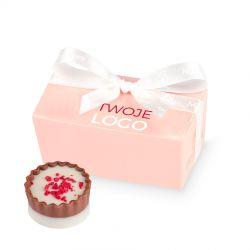 Pralinki firmowe Mini Ballotin Pink no.1 z Twoim logo