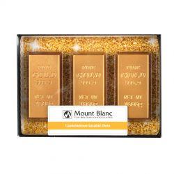 Czekoladowe sztabki złota