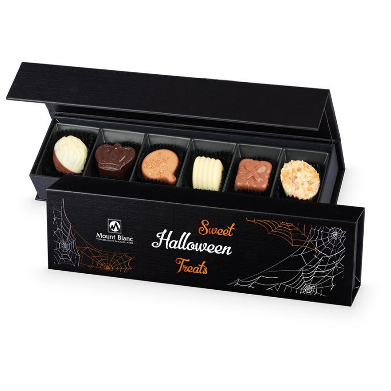 Czekoladki na Halloween Chocolate Box Long Black
