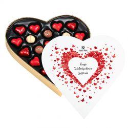 Bombonierka w kształcie serca Sweet Heart Maxi z Twoimi życzeniami
