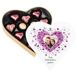 Serce na walentynki Sweet Heart Mini z Twoimi życzeniami i zdjęciem