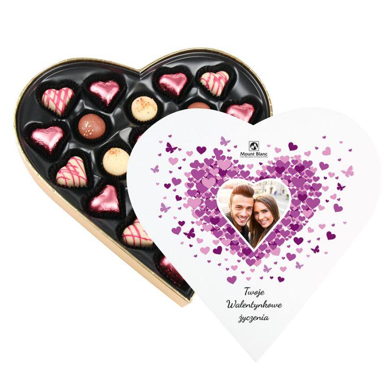 Serduszka na walentynki Sweet Heart Maxi z Twoimi życzeniami i zdjęciem