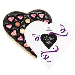 Czekoladki na walentynki Sweet Heart Maxi z dedykacją I Love You