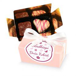 Czekoladki Mini Ballotin Pink no.1 Słodkiego Dnia Kobiet