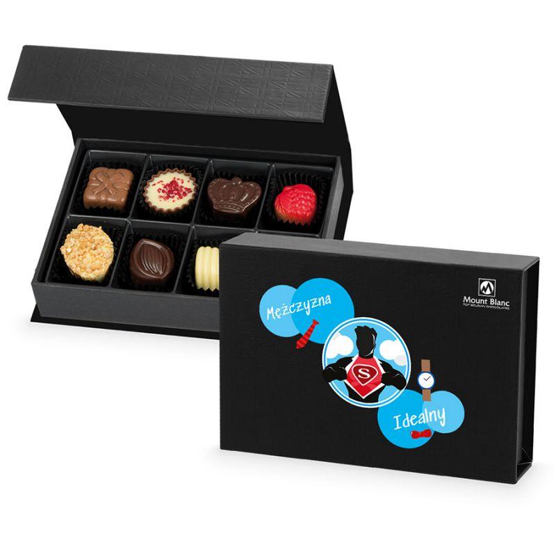 Bombonierka na dzień mężczyzn Chocolate Box Mini Black