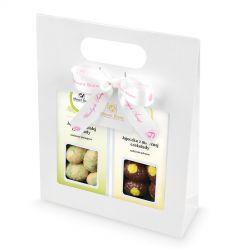Zestaw prezentowy na Wielkanoc Gift Bag White no.1