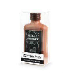 Czekoladowa butelka whisky Finest