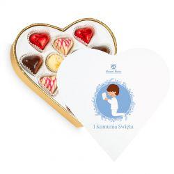 Prezent na komunię dla chłopca Sweet Heart White Mini