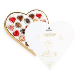 Bombonierka z okazji Pierwszej Komunii Świętej Sweet Heart White Maxi