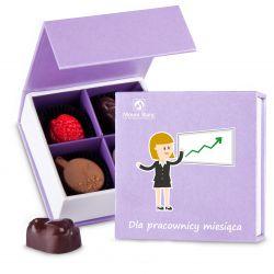 Finesse Lavender no.1 Dla pracownicy miesiąca czekoladki firmowe