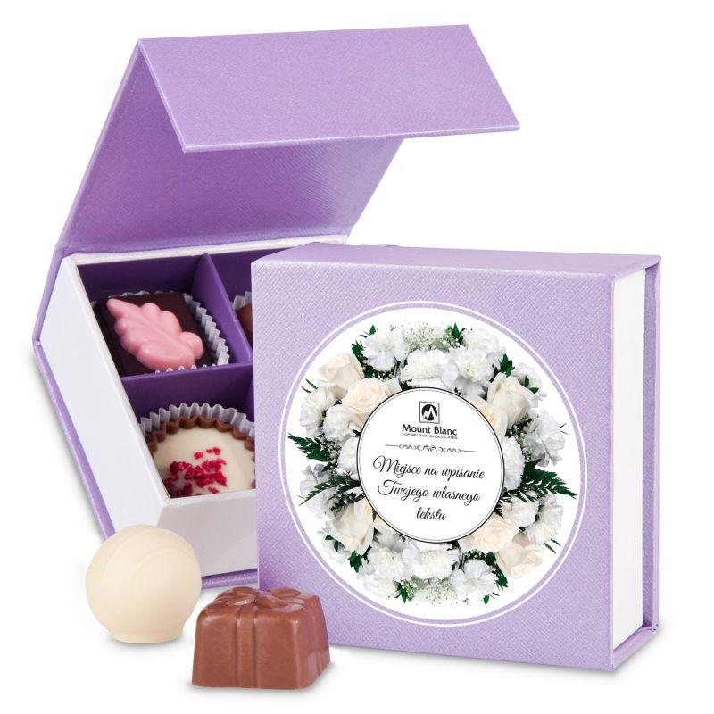 Finesse Lavender no.1 z życzeniami. Prezent dla Młodej Pary