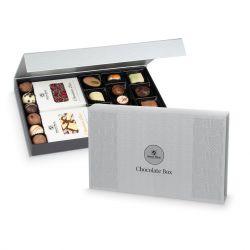 Zestaw Chocolate Box Silver. Czekoladowy prezent
