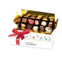 Czekoladki na Boże Narodzenie Mini Ballotin White no.5