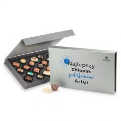 Prezent na Dzień Chłopaka Chocolate Box Silver